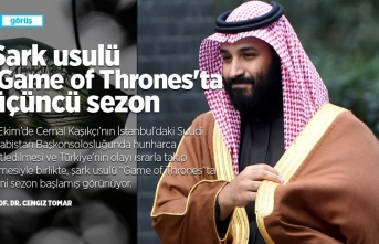 Şark usulü 'Game of Thrones'ta üçüncü sezon